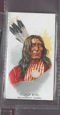 Allen Ginter American Indians Cigarette Cards