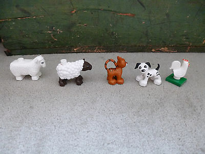 Duplo Lego Animals, People and other accessories