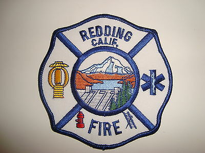 USA, Reading Calif Fire Dept, Embroidered Cloth  Badge