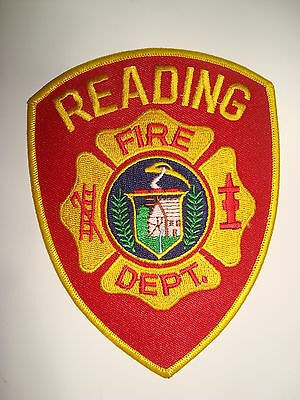 USA,Reading Fire Dept, Embroidered Cloth  Badge