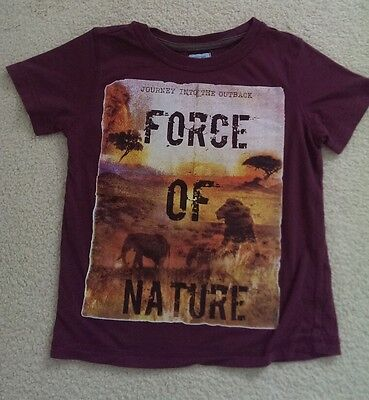 Boys' Force of Nature T-Shirt age 3-4