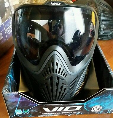 Virtue VIO Extend Pro Thermal Paintball Mask - Stealth Black - NEW
