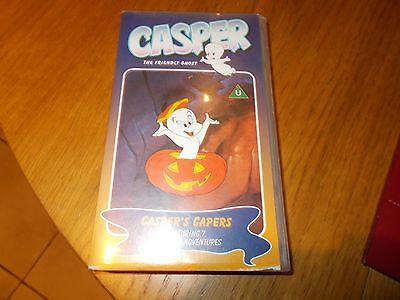 CASPER [THE FRIENDLY GHOST]CASPERS CAPERS]VIDEO/VHS  childrens /family