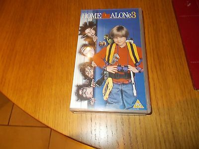 Home alone 3 PG VHS video cassete tape