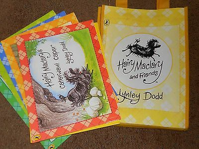 Hairy maclary books x6 in yellow presentation bag