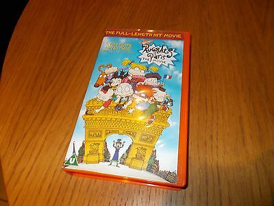 The Rugrats in Paris  Full length hit movie VHS video cassete tape