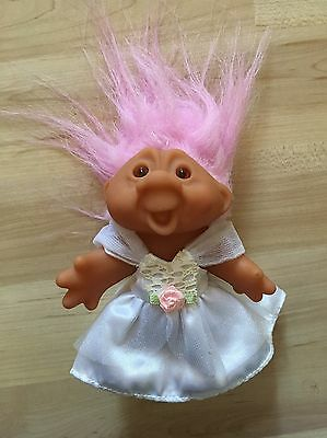 Genuine Original Russ Trolls- Troll In Wedding Dress