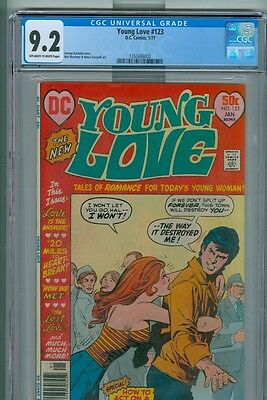 Young Love 123 Alex Toth Win Mortimer Henry Scarpelli Cgc Near Mint Minus 9.2