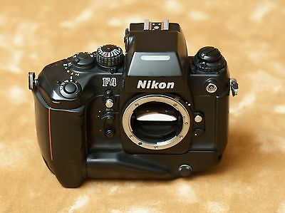 Nikon F4 (body) with Motor MB-21 and MF-23 Data Back