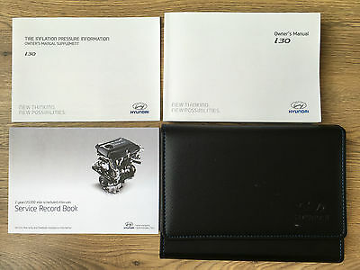 Hyundai I30 Owners Manual Handbook Pack With Wallet +Service 2011-2016 Ref3970