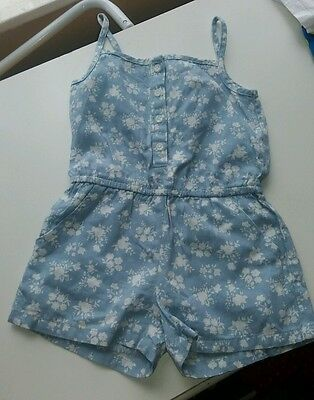 Girls age 2 to 3 floral playsuit