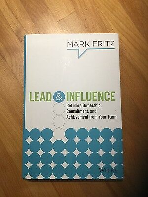 Lead & Influence - Mark Fritz - signed copy
