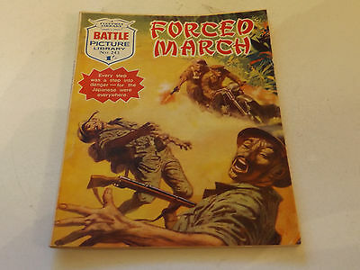 BATTLE PICTURE LIBRARY NO 243!,dated 1966!,GOOD FOR AGE,a RARE ISSUE,50 yrs old.