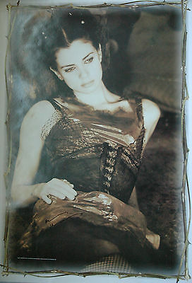 Rare Mia Kirshner Autographed / Signed Poster The Crow - The L Word - Defiance