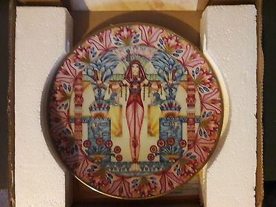 Ma'at Collectable Plate - Ltd Edition - Goddesses of Egypt - Bradford Exchange