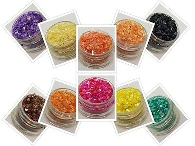 Crushed Pearlescent Shells  - For Nail Art
