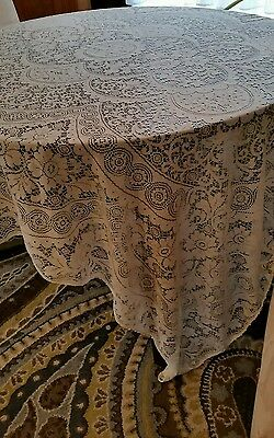 66 by 96 LACE TABLECLOTH