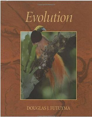 Evolution book by Douglas J. Futuyama HARDBACK 3rd edition 2006 - excellent cond