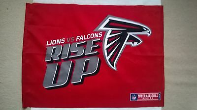 Atlanta Falcons 'RISE UP' flag: NFL International Series London 2014
