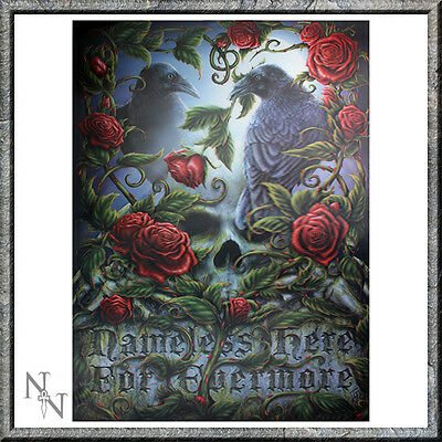 NEW GOTHIC SORROW FOR THE LOST  3d PRINT PICTURE WITH FREE POSTAGE