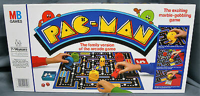 Pac-Man - Pacman Vintage Board Game - 1980's - MB Games - COMPLETE - VGC