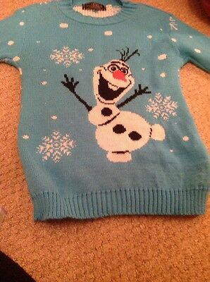 frozen olaf christmas jumpers