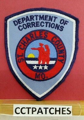 St Charles County, Missouri Corrections (Police) Shoulder Patch Mo