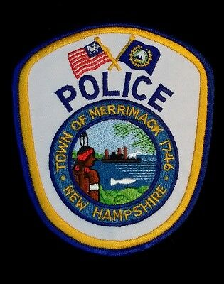 Merrimack, New Hampshire Police Shoulder Patch Nh