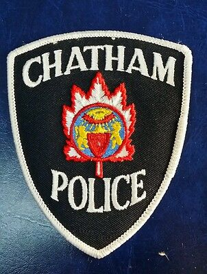 Chatham, Canada Police Shoulder Patch