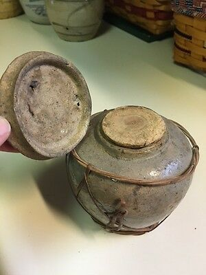 Antique Unusual Ginger Jar