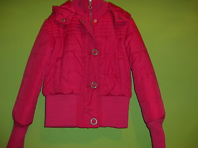 padded pink coat by freespirit age 9-10 years