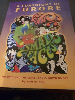 The Who Small Faces Mod A Fortnight Of Furore Out-Of-Print Australian Tour Book