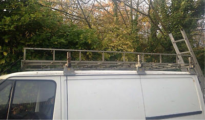 Ford Transit Heavy Duty Roofrack - Made by Saunders