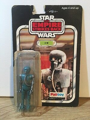 RARE Vintage Star Wars 2-1B And Palitoy ESB Backing Card.