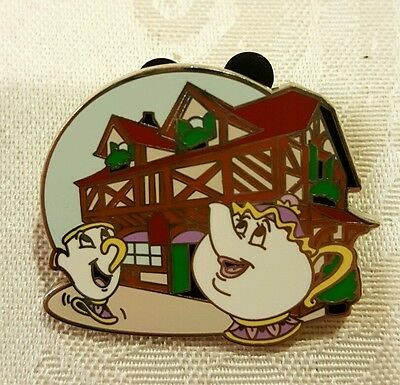 Disney Trading Pins 94081 WDW - New Fantasyland - Beauty and the Beast Mystery C