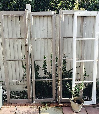 Pair of Vintage French Window Shutter's Two Sizes