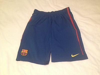 NIKE FCB Football Club Mens shorts activewear DRI -FIT Size Large