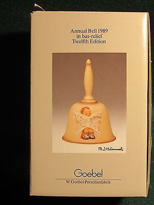 1989 Hummel Annual Bell by Goebel Hum 711 Handcrafted