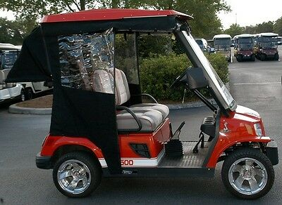 Tomberline Emerge Golf Cart Custom Fit Enclosure Track Style  W/o Bag Cover