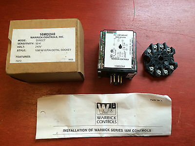Warrick 16MD2A0 Relay 240V - BRAND NEW - QUICK SHIP - FREE EXPEDITED SHIPPING