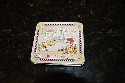 Mary Engelbreit Travel Sewing Kit in Tin A Stitch in Time Saves Nine