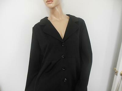 Black Motherhood Maternity Button Up Sweater Xl Extra Large  Dressy
