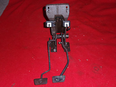 67 68 Mustang Clutch & Brake Pedals 4 speed FORD OEM Used Parts 1967 Cougar