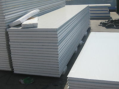 Refrigeration Sandwich Panel for coolroom ,shed , Insulation 75mm $26/m2