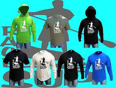 RACE SUP Paddle Board T Shirts and Hoodies