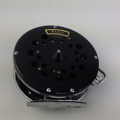 Vintage Sears Fly Reel 6 31522 With Drag Control Cranks Made In Japan
