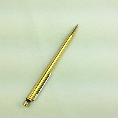 Vintage Lamy 251 Stainless Steel Gold Color Ballpoint Pen Made In West Germany