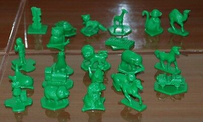 Vintage Toys Tupperware Toys Busy Blocks 22 Animals Figures