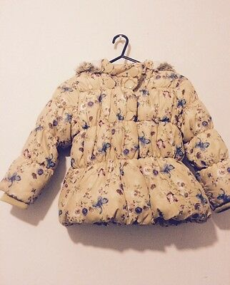 Used Next 3-4yrs Shower Ressistant Padded Jacket (Girls)