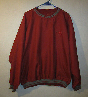 Coca Cola / Coke Golf (North End - Red Pullover Jacket - XL - X Large)